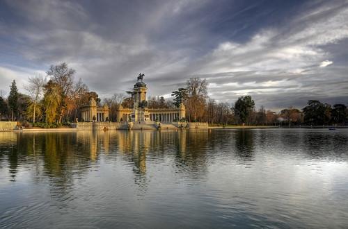 madrid park parque españa pond spain nikon espanha europa europe estanque retiro espagne hdr d300 3xp photomatix 18200mmf3556gvr ltytr1