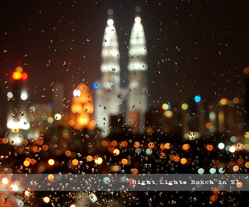 Night Lights Bokeh in KL