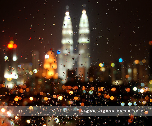 Night Lights Bokeh in KL - Beautiful Bokeh Photography