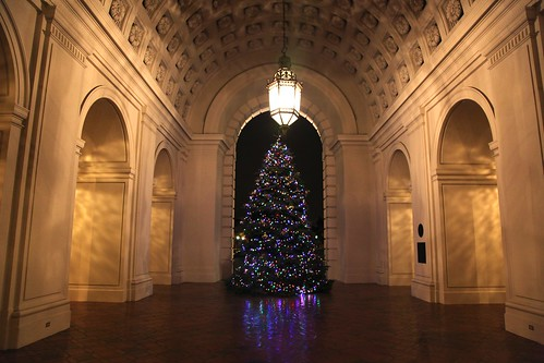 Pasadena City Hall's Christmas Tree