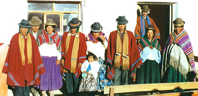 Aymara Men & Women