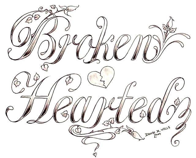 3931266516 f8ce4d028f z jpgPencil Drawings Of Broken Hearts