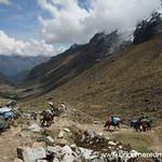 Careful Footing - Day 2 of Salkantay Trek, Peru