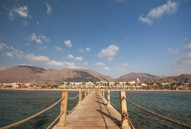 red sea jetty