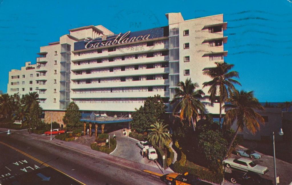 Casablanca Hotel - Miami Beach, Florida