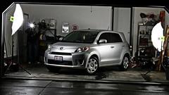 auto show(0.0), automobile(1.0), automotive exterior(1.0), wheel(1.0), vehicle(1.0), automotive design(1.0), compact sport utility vehicle(1.0), scion(1.0), subcompact car(1.0), city car(1.0), compact car(1.0), bumper(1.0), land vehicle(1.0),