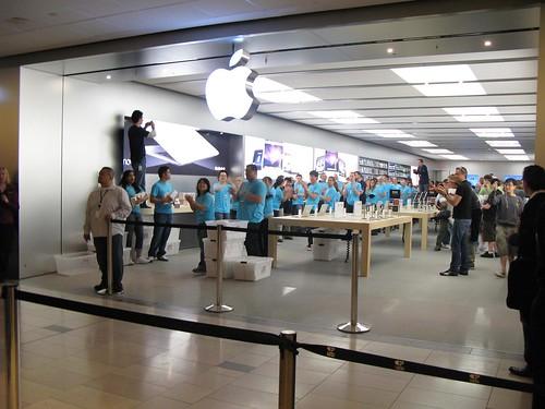 les employés de la société Apple