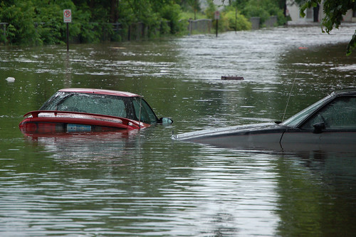 Flooding in Cedar Rapids, IA