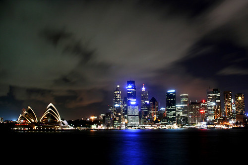 Sydney Harbour night