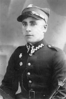 David Berkowicz serving in the Polish army - Berkowicz Family - Poland - 1930s
