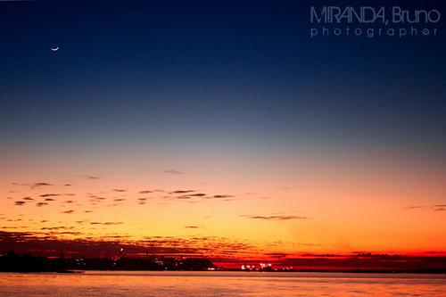 sky moon nature brasil sunrise natureza céu bm lua manaus amazonas nascerdosol amazônia brunomiranda