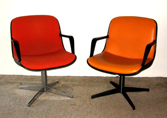 Steelcase 1970s office chairs flickr photo sharing