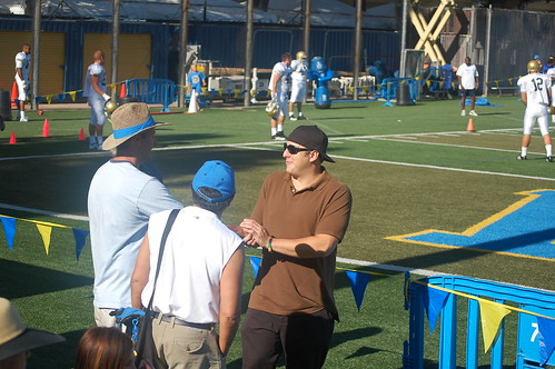 Petros Papadakis at UCLA practice