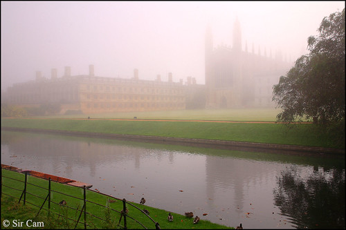 Foggy morning in Cambridge