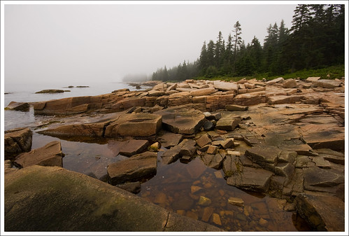 Frazer Point on the Schoodic Peninsula - Acadia National Park