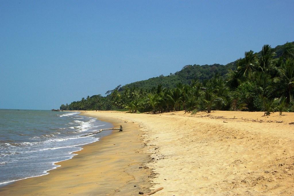 Rémire Montjoly beach, near Cayenne