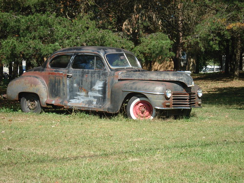 1946-48 plymouth DeLuxe Coupe by carcrazy6509