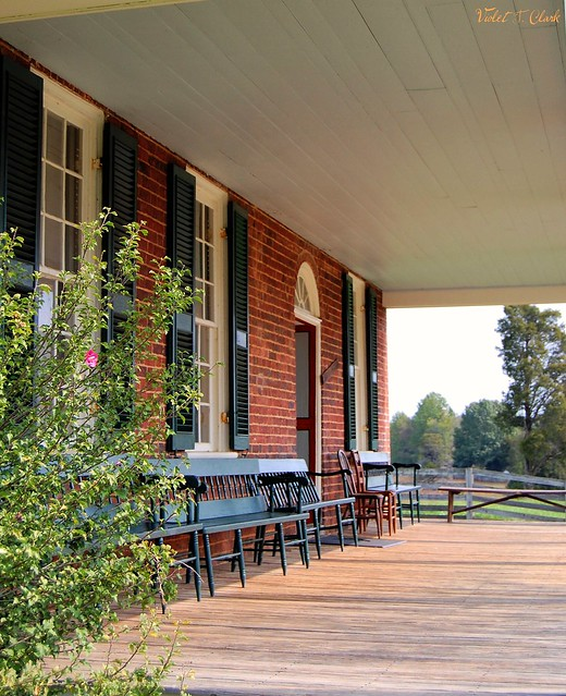 Clover Hill Tavern Front Porch
