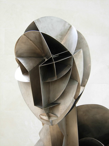 Naum Gabo's Constructed Head No. 2
