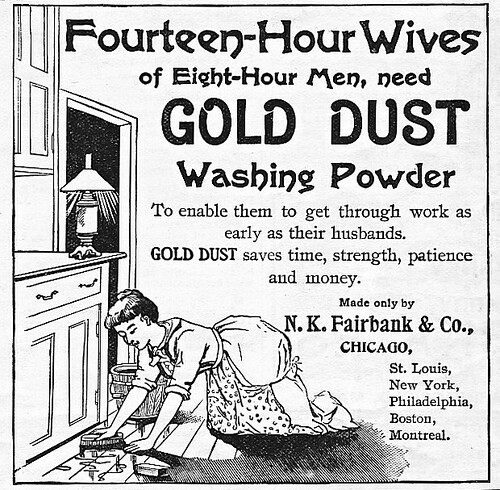 14-hour Wives, 1893