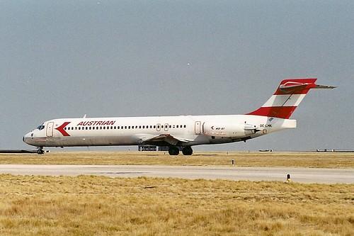 Austrian Airlines MD87 OE-LMK