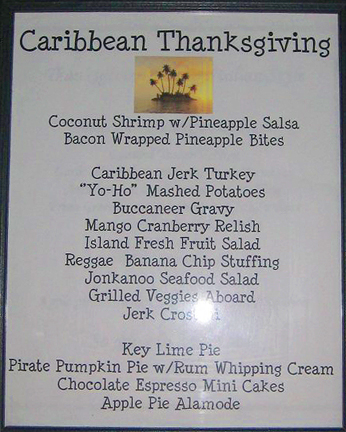 Caribbean Thanksgiving 2008