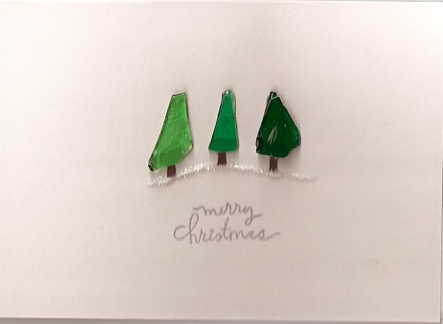 Sea Glass Christmas Tree Trio Explore Trailhuggersarah 39 S