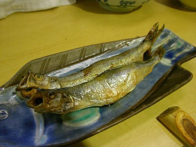 Photo:柳葉魚(ししゃも)@炉ばた しらかば(冬の釧路・厚岸) Kushrto Trip (East Hokkaido) By jetalone