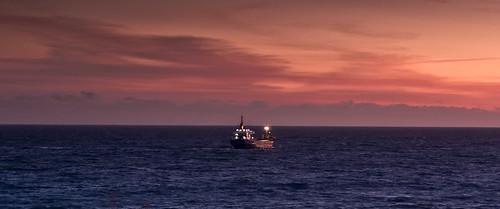 orange seascape sunrise flc santander cantabricsea bahíadesantander biscaybay valdenoja sonylens alpha300 youlitooo northcoastspain