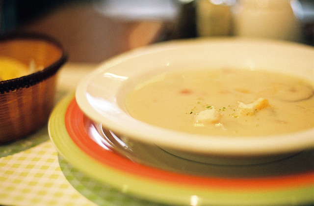 Creamy Potato Soup---I'm hungry