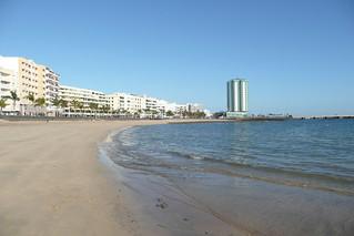 Immagine di Playa del Reducto vicino a Arrecife. lanzarote arrecife granhotel reducto playadelreducto arrecifegranhotel