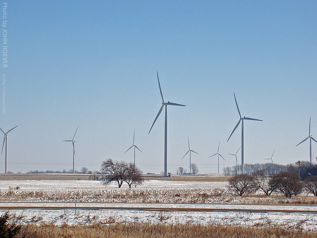 Iowa Wind Farm 22 Feb 2009  Flickr  Photo Sharing