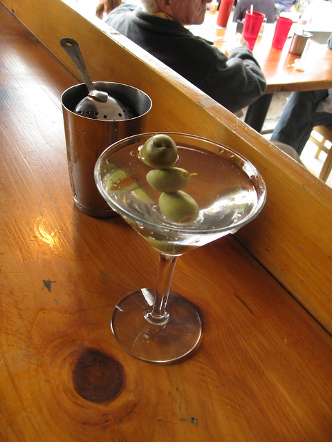 Olive Garden Martinis With Patron Cafe