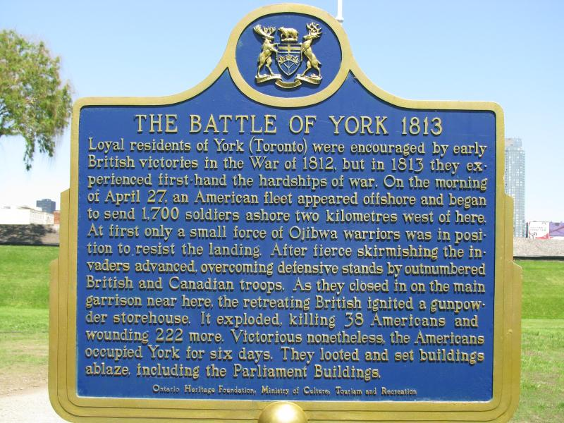 Fort York 02 - Battle of York in 1813