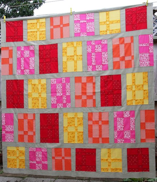 Batch of Brownies Quilt top
