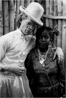Yellowman (1956- ) and girlfriend by Photographer Unknown to Me