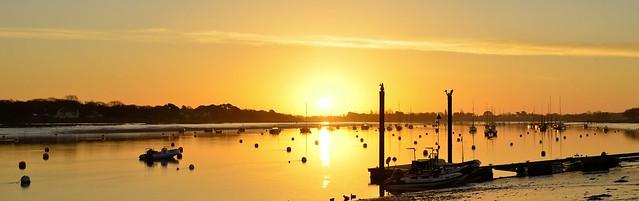 sunrise panorama