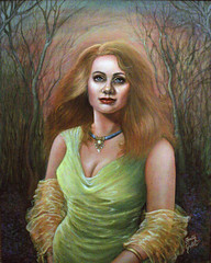 The Green Dress (painting) Green (poem)