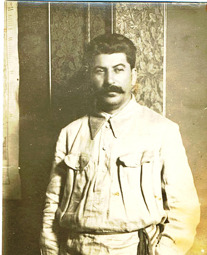 Joseph stalin as a young man