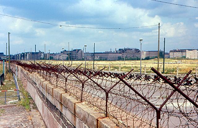 East Berlin from the Berlin Wall from Flickr via Wylio
