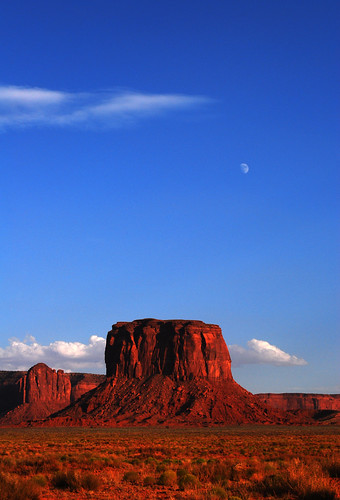 sunset red sky usa moon clouds utah us oracle ut rocks searchthebest explore monumentvalley naturesfinest supershot outstandingshots mywinners abigfave visiongroup holidaysvacanzeurlaub diamondclassphotographer flickrdiamond overtheexcellence damniwishidtakenthat goldenvisions