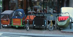 Breet Bikes Wageningen cargobikes assembly