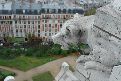 Gárgolas en lo alto de la Basílica Sacré Coeur, el balcón más bello de París - 2668503069 2bc783753c - Sacré Coeur, el balcón más bello de París