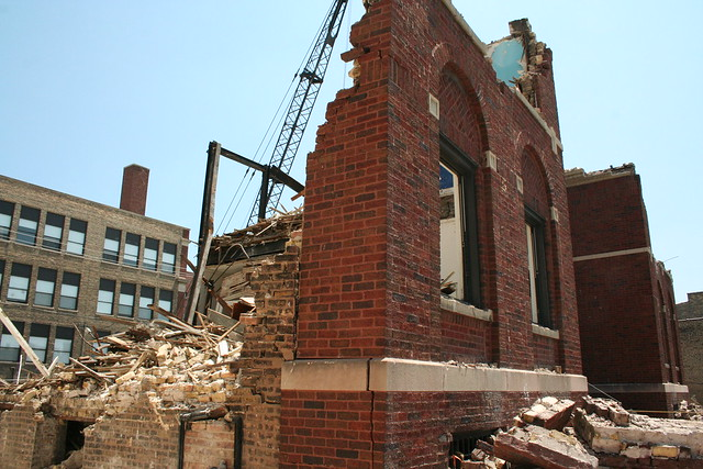 demolition our lady of mercy church convent 4419 north