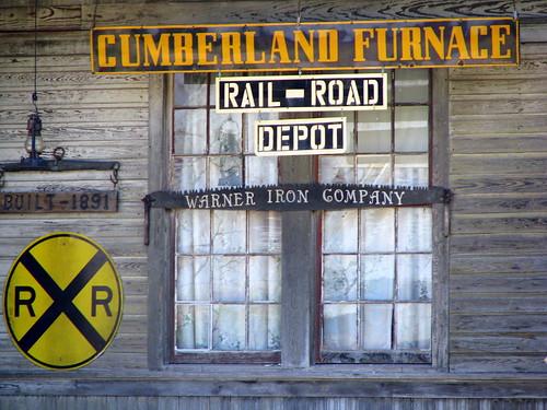 Cumberland Furnace Depot front