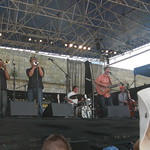 Sun, 03/08/2008 - 12:42pm - Calexico at the 2008 Newport Folk Festival