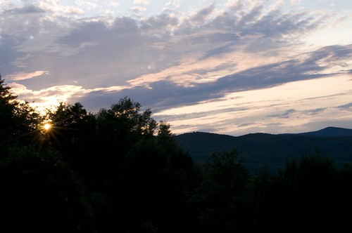 sunset vacation vermont coolsky campohana