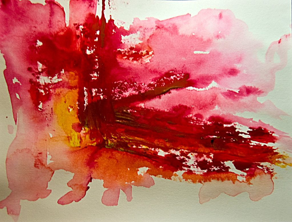 abstract and water color - photo #13