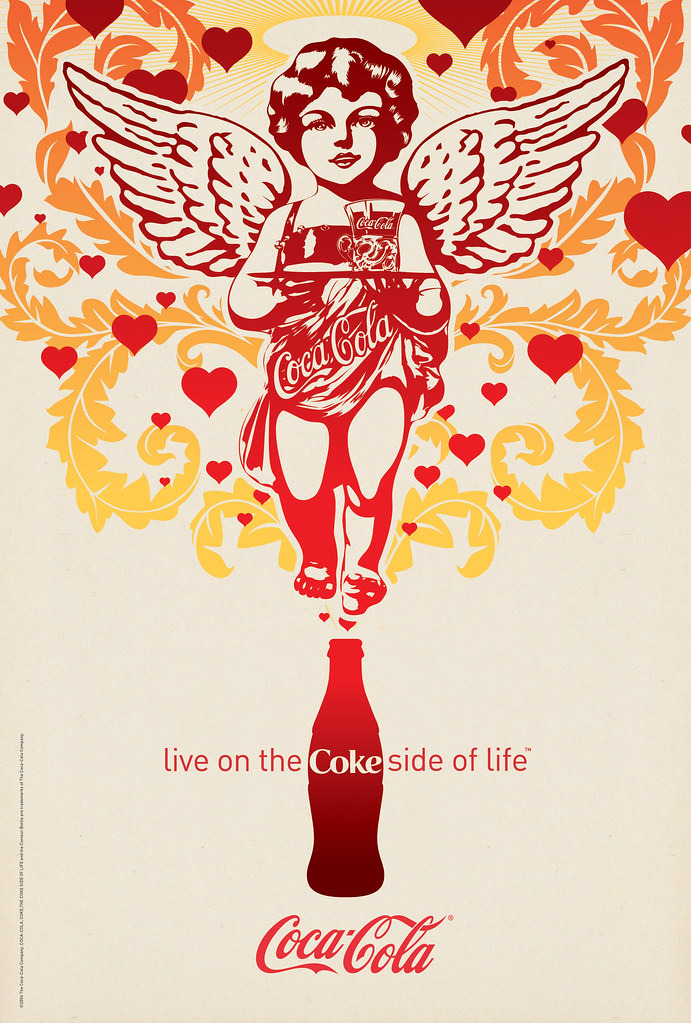 Coke Side of Life: Coca-Cola Art Remix