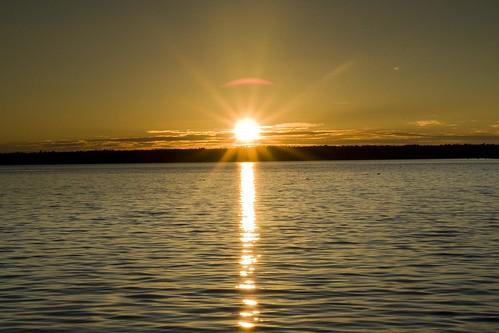 park sunset bar point harbor maine national acadia haynes